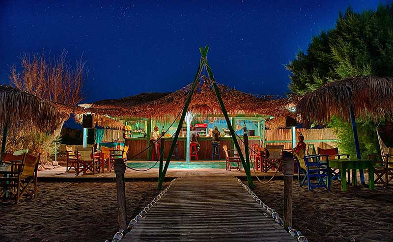 Mojito Beach Bar an Accommodation Night