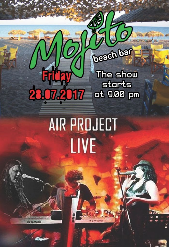 Air Project Live @ Mojito Friday 27/7