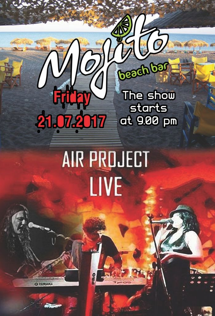 Friday 21th July / Air Project Live